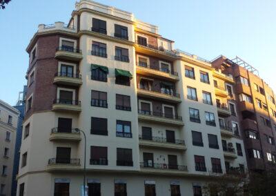 Restauración de fachada y cubierta