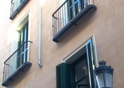 Rehabilitación en el barrio Las Letras